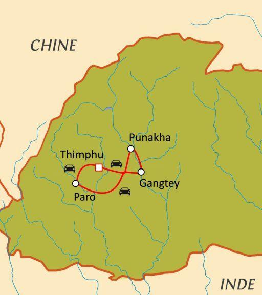 Trésors du Bhoutan