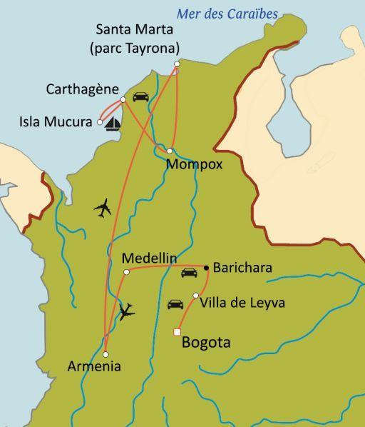 Grande découverte de la Colombie