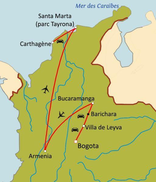 Trésors de Colombie