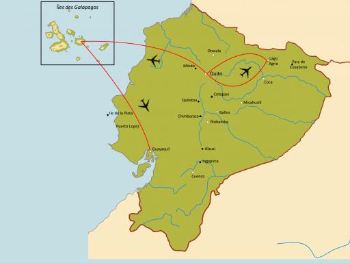 De l'Amazonie aux Galapagos