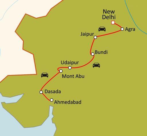 Du Rajasthan au Gujarat