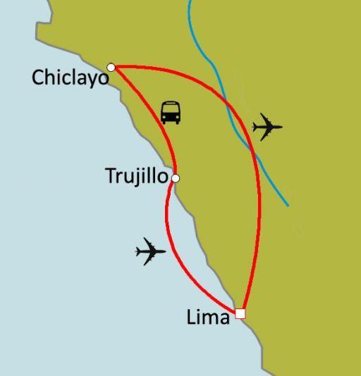 Sur la route Mochica : Chiclayo et Trujillo (Nord Pérou)