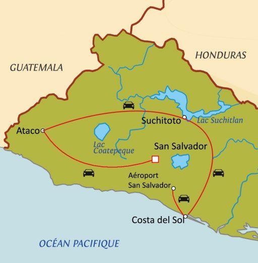 Trésors du Salvador avec guide-chauffeur francophone