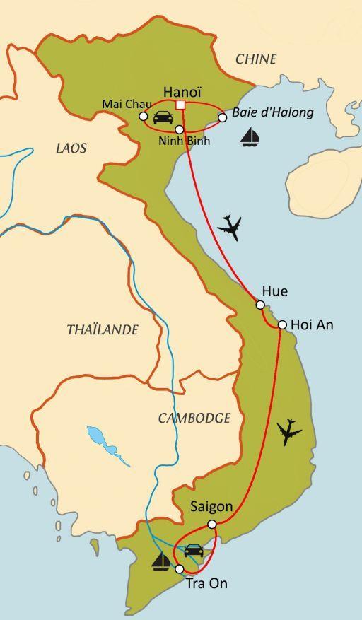 Trésors du Vietnam
